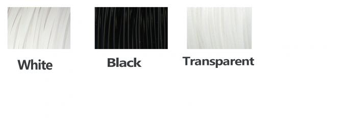 Black  Nylon 1.75mm / 3.0mm Filament Material Of 3D Printing MakerBot