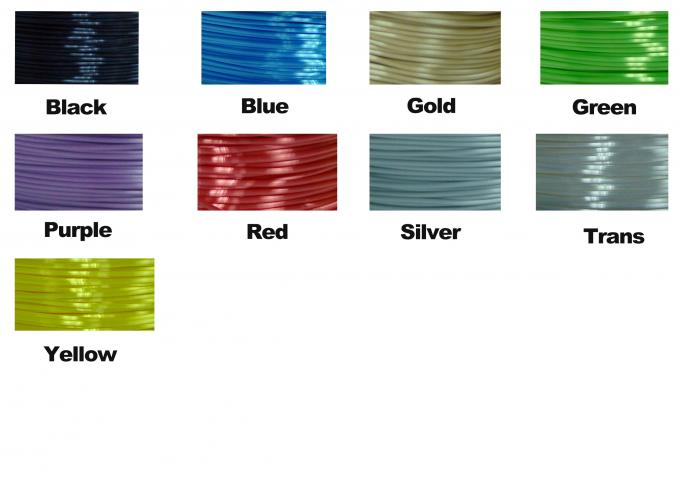 Polymer Composites 3d Printer filament  1.75 / 3.0 mm  ,Imitation Like Silk Filament ,High Gloss
