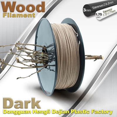 Trung Quốc Anti Corrosion Wooden Filament For 3D Wood Printing Material 1.75mm / 3.0mm nhà cung cấp