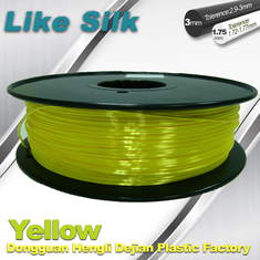 Trung Quốc Yellow Colors 3D Printer Filament Polymer Composite ( Like Silk ) 1.75mm / 3.0mm Filament nhà cung cấp