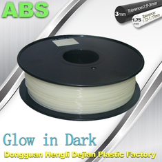 Trung Quốc Good Toughness Glow In The Dark ABS Filament  For 3D Printing nhà cung cấp