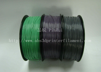 Trung Quốc Custom Color Changing abs and makerbot pla filament 1.75 / 3.0mm Grey to white nhà cung cấp