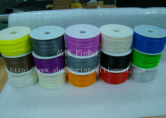 Trung Quốc Purple 1.75mm 3D Printing Filament Materials For Makerbot Mendel 3d Printer , Good Toughness nhà cung cấp