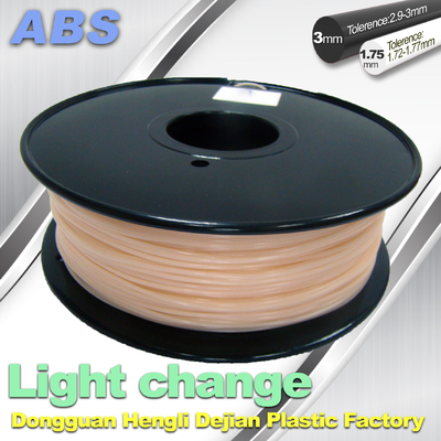 ABS Light Change Color Changing Filament Stable In Performance