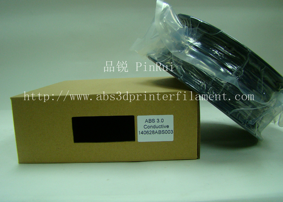 Rapid Prototyping Material ABS Conductive 3d Printer Filament 1.75 black