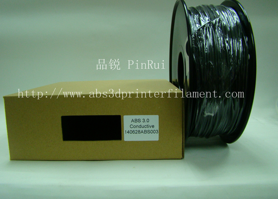 Electronics industry conductive abs filament  3d printer consumables 1.75 / 3.00mm
