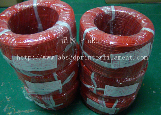 Large Diameter Rigid PP Plastic Hard Tubes Red / Yellow For Electrical Wire